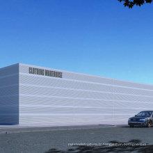 Prefab Large Large Steel Structure Bâtiments / Atelier