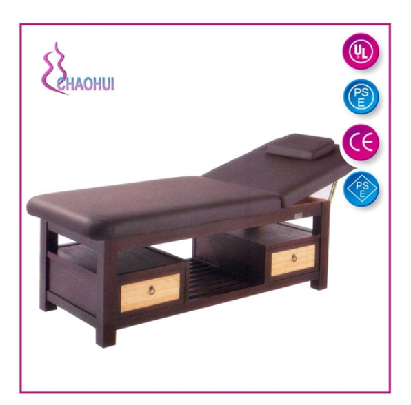 Wood Massage Bed Folded