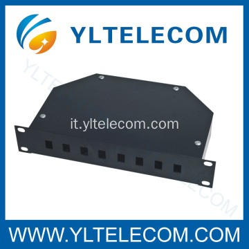 FO Patch Panel 10 pollici 8port