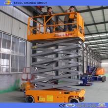 Plataforma elevadora de tijera autopropulsada