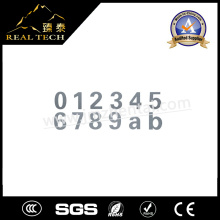 Edelstahl-Zahl-Zahl-Buchstabe-Zeichen-Platte 1.5mm Stärke