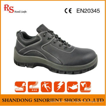 Slip Resistant PU Sole Protective Safety Shoes RS003