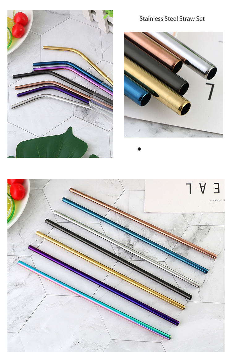 Steel Drinking Straw