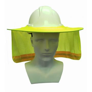 Sun Neck Shield Full Brim Sunshade para casco de seguridad