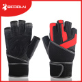 Weight Lifting Glove Custom Gym Fitness Cotton Bandage Lifting Strap Type Gym Lifting Straps