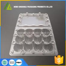 12 Stück Wachte Eier Tablett