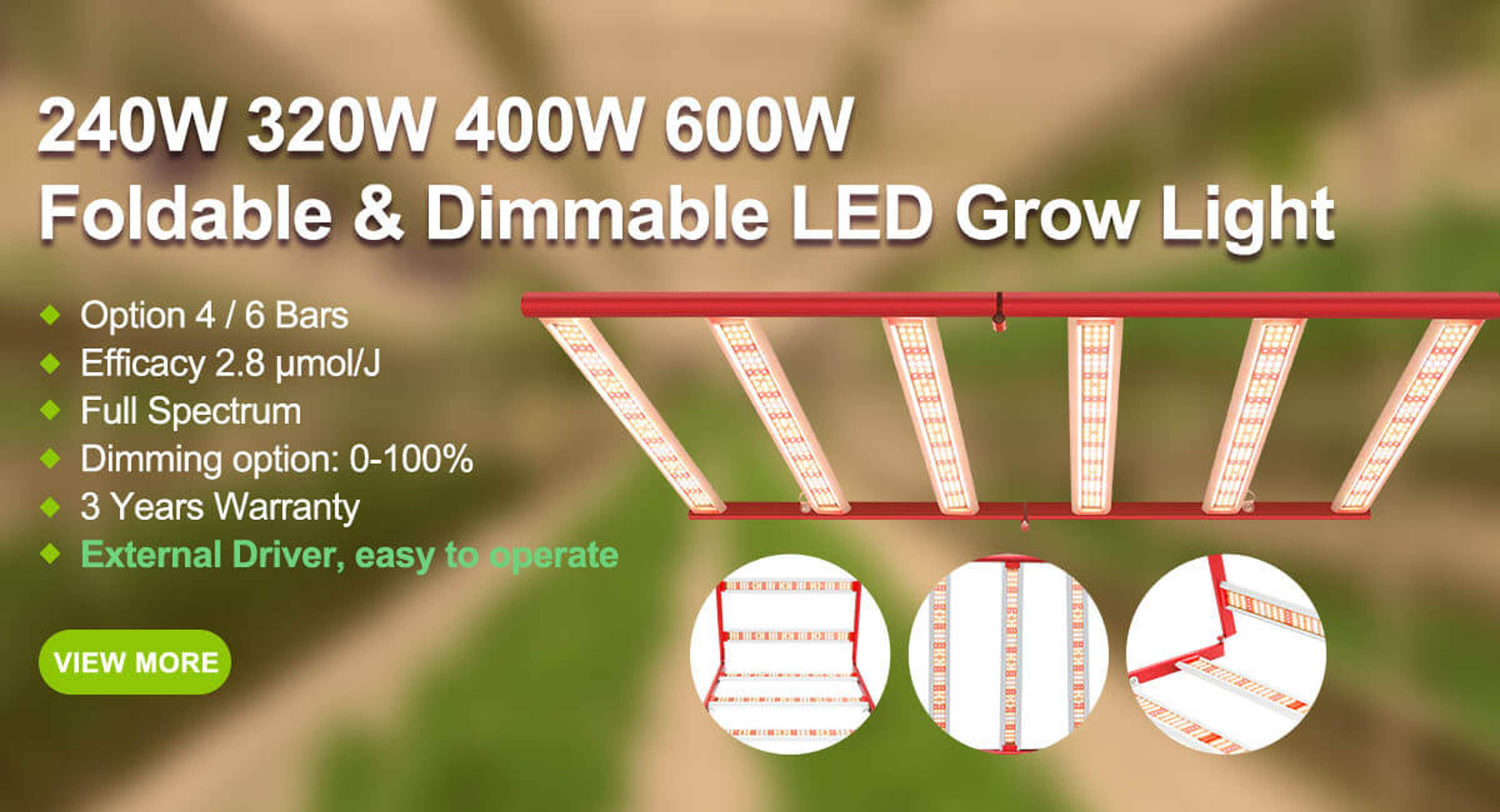 amazon m600w led grow lights