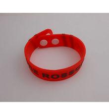 Wasserdichtes Silikon-Armband-weiches Handgelenk-Bügel (GZHY-SW-007)