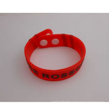 Waterproof Silicon Wristband Soft Wrist Strap (GZHY-SW-007)