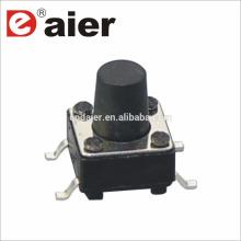 Daier 2pin smd tacto interruptor de luz interruptor de tacto normalmente cerrado