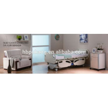 7-function electric bed with Dewart and T-motion motor with central locking with CE/FDA/ISO DA-6