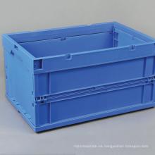 Contenedor de plástico plegable / Contenedor de almacenamiento plegable de plástico