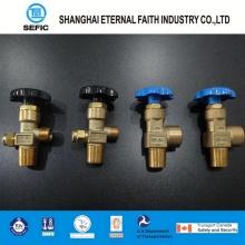 Vanne à cylindre d'oxygène industriel (QF-6A)