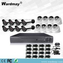 CCTV 16ch 5.0MP Beveiliging Surveillance DVR-systeemkits