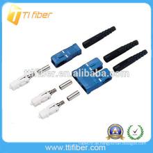0,9 / 2.0 / 3.0mm SC UPC Singlemode Simplex LWL Stecker