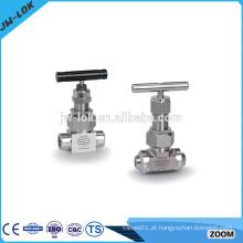 Válvulas de agulha de aço carbono de preço favorável
