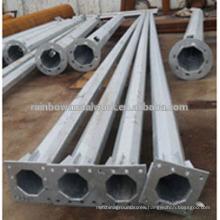 Hot Dip Galvanized Steel Lighting Post
