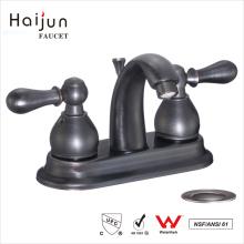 Haijun Latest Designing cUpc Deck Mounted Bathroom Wash Basin Sink Faucet