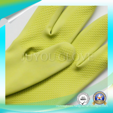 Anti Acid Cleaning Waterproof Work Latex Gloves with High Quality
