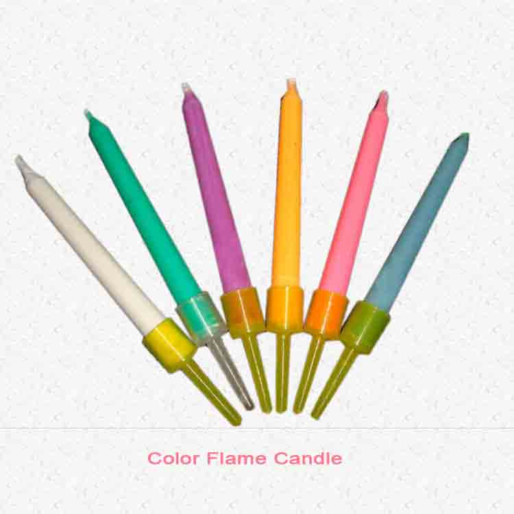 Color Flame Candle 1
