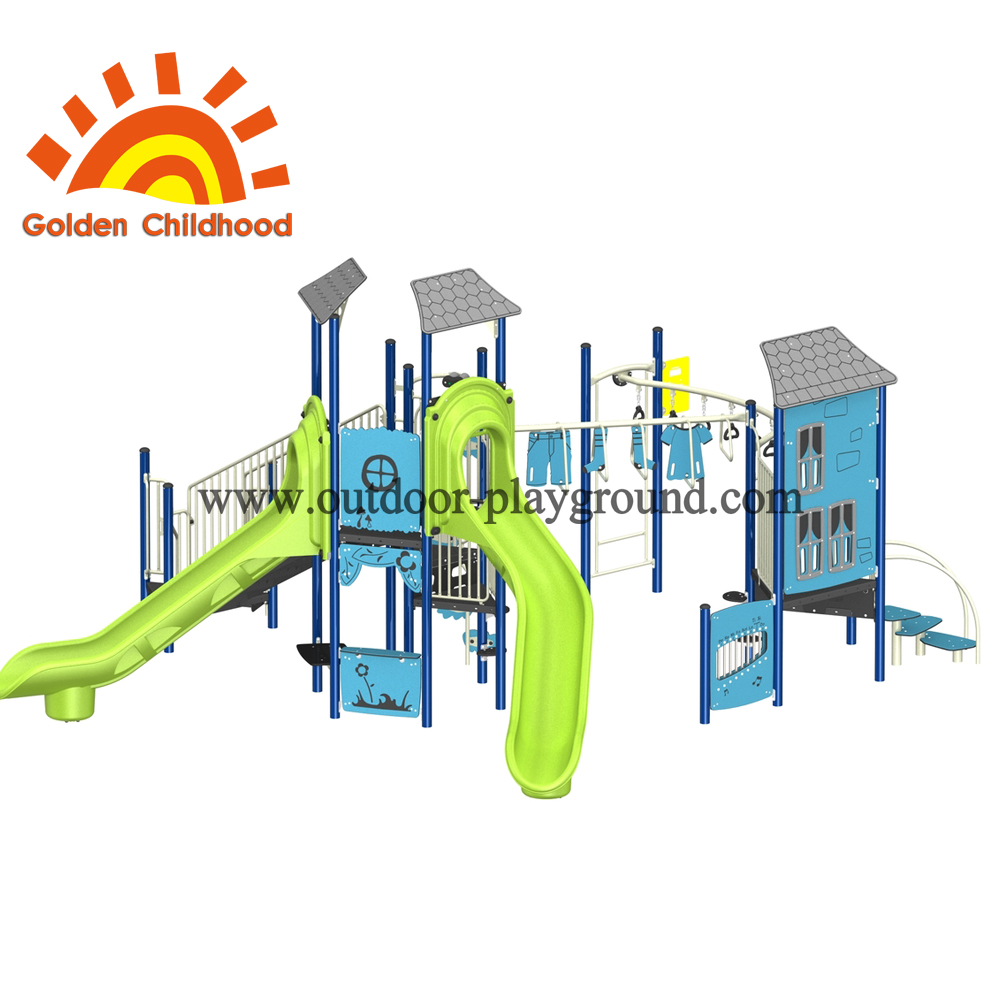 Playhouse 2 Outdoor Playground Equipment