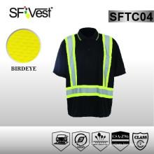 CSA Z96-09 Standard-Uniformen Arbeitskleidung hohe Sichtbarkeit Shirts Großhandel für Mann