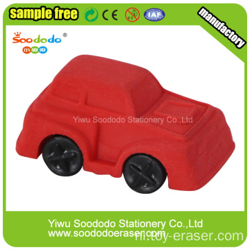 Car vormige School Supply briefpapier Erasers