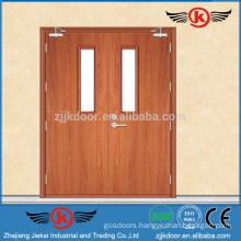 JK-FW9104 Fire Wood Tempered Glass Door Price