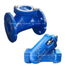 Шаровый обратный клапан, фланцевый, Лицевая сторона DIN 3202-F6