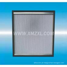 H13 H14 separador caixa filtro tipo HEPA