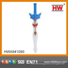Engraçado 60CM plástico espada brinquedo para crianças piscando espada