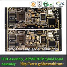 Electronics Pcb Fabricante 1-18 capas Proveedor jqc-3f t73 relevo pcb