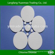 Industrie Circulaire Usage du système d'eau Tablette à base de dioxyde de chlore