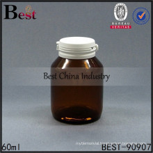2oz amber glass bottles, brown pharmaceutical medical pills bottles tear-off cap bottle, free samples