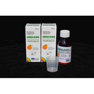 Amoxicillin for Oral Suspension BP 250mg/5ml