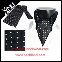 Beliebte Männer Silk Print Ascot Krawatte