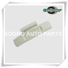Grampo de alta qualidade do aço / Fe em pesos de balanço da roda, revestimento do poliéster da cola Epoxy