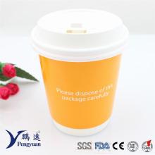 Recyclingfähige Einweg-Doppelwandige Isolierte Hot Coffee Paper Cup