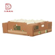 Wiederverkaufbarer brauner Gemüsespeicherkastengroßverkauf des Soem-Druckes heißer Verkauf