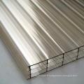 feuille de toit translucide pc pour système d'éclairage naturel
