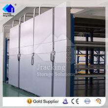Jracking hardware selectivo Q345 plataforma de presentación móvil de almacenamiento galvanizado por inmersión en caliente