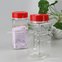 16oz Food Grade Pet Condiment Jar mit Schraubverschluss (PPC-PSB-77)