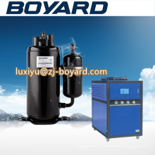 Refroidisseur d'eau industriel avec la ferraille de compresseur ac 220v-240v/50Hz 1ph pour l'accueil de l'air on