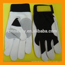 Soft Goatskin Truck Driver Gloves Driving Gloves