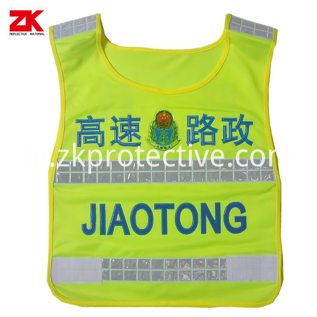 Oxford Safety Vest With Logo