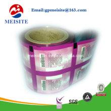 Sac d'emballage stratifié / Sachet Manche Film en aluminium en rouleaux