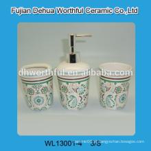 Único conjunto de acessórios de cerâmica banheiro feito na china