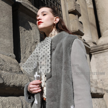 Με κουκούλα Merino Lady Shearling Coat