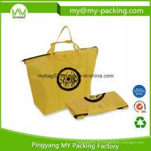 Sac à provisions promotionnel non tissé de Eco Foldaway pp