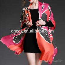 PK17ST121 digital printing Spring wool cashmere gauze scarf